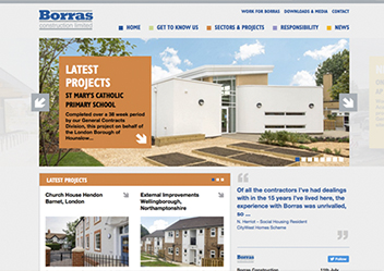 borras web preview